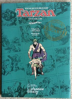 Tarzan in Colour, Signed and Numbered by Burne Hogarth. 132/140 First Print
