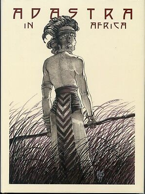 Adastra in Africa. Signed First April 1999 Edition. Hardback