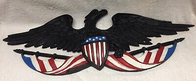 Metal Flying Eagle Wall Hanging