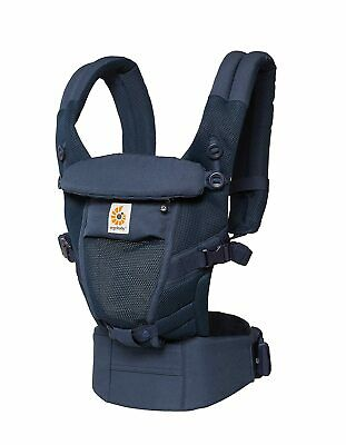 Ergobaby Adapt Unisex Deep Blue Baby Carrier BCPEAPBLUE**Open Box**