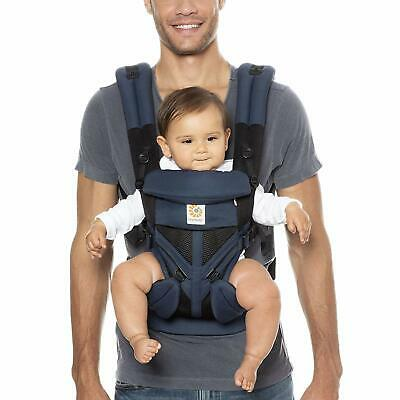 Ergobaby Omni 360 All Carry Positions Raven Blue Baby Carrier **Open Box**