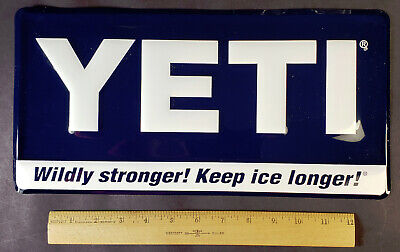 YETI Coolers Metal Advertising Sign -Brand New!