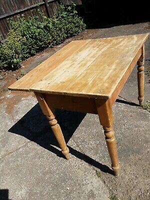 Victorian Pine  kitchen table small