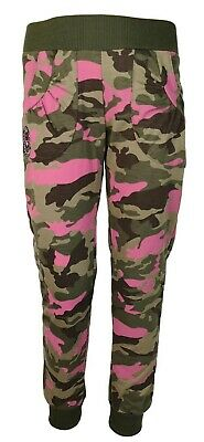 Girls Kids Camouflage Trousers Joggers Camo Jogging Pants Tracksuit Bottoms
