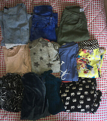 Bundle Of Girls Clothes Age 12-13 Years (11 Items) New Look River Island