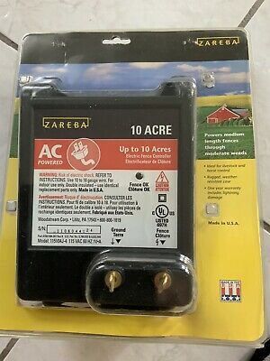 Electric AC Fence Charger ZEREBA 10 ACRE