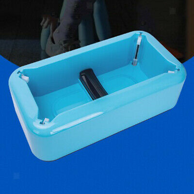 Automatic Shoe Cover Loader Dispenser Machine Device Hands Free Time Saving Blue