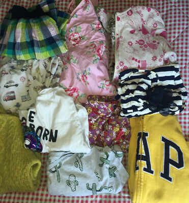 Bundle Of Girls Clothes Age 12-13  (10 Items) Gap Hollister Billabong Hooch Zara