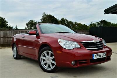 Late 2008 58 Chrysler Sebring 2.0 Crd Limited 4 Seater Convertible