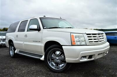 Fresh Import Cadillac Escalade Esv Long Wheel Base 7 Seater Auto Pearl White