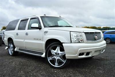Fresh Import Cadillac Escalade Esv Long Wheel Base 8 Seater Auto Pearl White