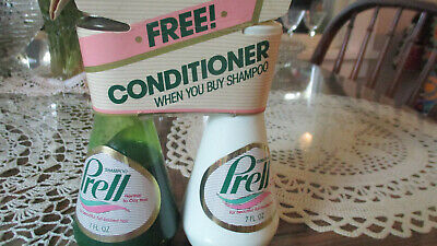 Vintage Prell Shampoo And Prell Conditioner  Multi- Pack Item