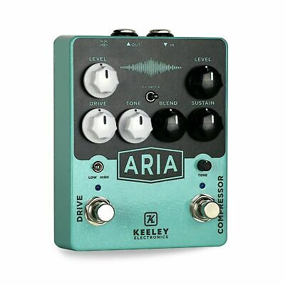 Keeley Aria Compressor/Overdrive Guitar Effect Pedal