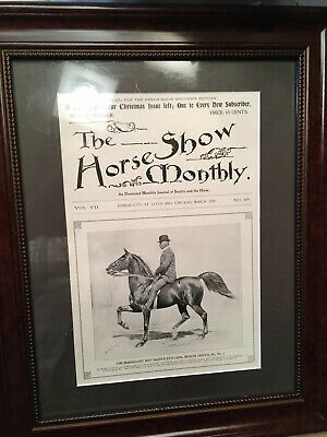 George Ford Morris-Horse Show Monthly 1899