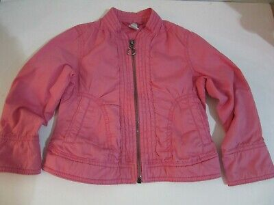 Zara Girls Pink Zip Up Lightweight Jacket With 2 Front Pockets - Age 2 - 3 Years