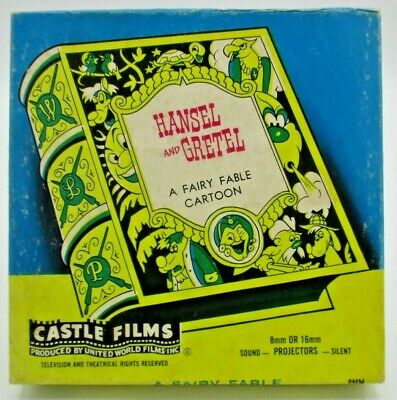1956 Castle Films 8mm Hansel and Gretel a Fairy Fable (no. 545) by Walter Lantz