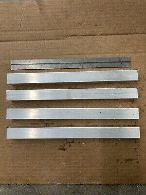 "4 Pcs Of 1""x1""x12"" T6511 6061 Square Aluminum Flat Bar Soild New Mill Stock"
