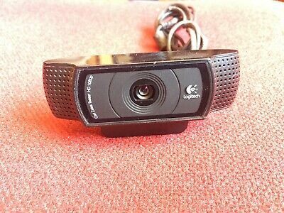 1080p Works Great - Used Logitech C920 HD Pro Webcam