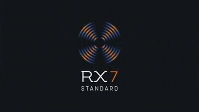 iZotope RX 7 Standard - Genuine Serial License - Digital Delivery - VST AU AAX