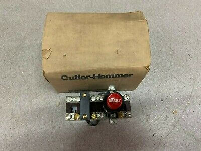 New In Box Cutler Hammer Overload Relay 10-2145-3