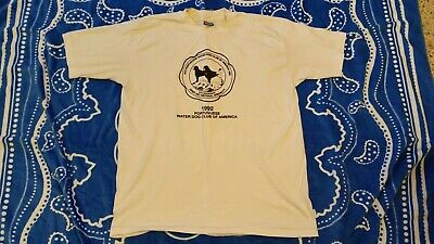 Vintage 1992 Portuguese Water Dog First AKC National Specialty X-Large T-Shirt
