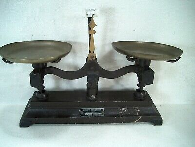 Vintage Scale Apothecary Scales Henry Troemner