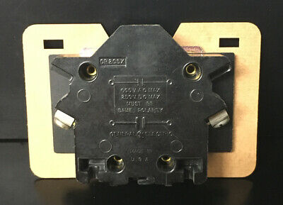 Ge Cr205X Auxillary Contact