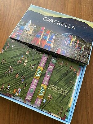 Coachella 2020 WEEKEND 1  Two VIP bands And Box.