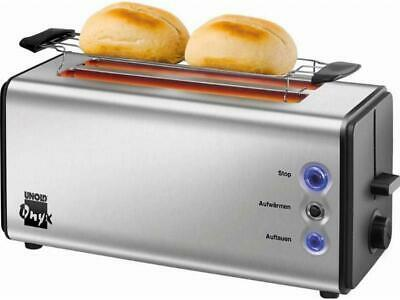 Unold Toaster 38915 eds/sw Edelstahl Toaster Toaster