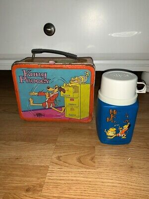 Vintage Hong Kong Phooey Lunchbox Thermos