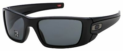 Oakley Fuel Cell Sunglasses OO9096-05 Matte Black Frame | Grey Polarized Lens