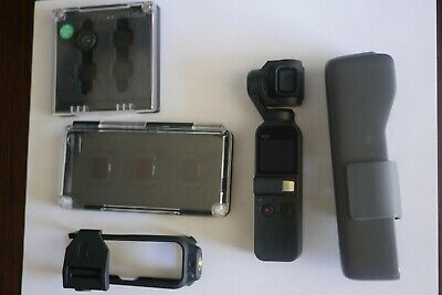DJI Osmo Pocket 3-Axis Stabilizer and 4K Handheld Camera + Extras
