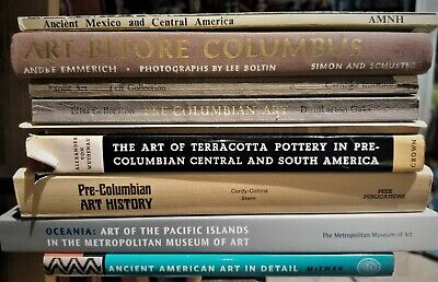 16 misc BOOKs - Pre-Columbian, ancient American, Central-North-South, New Guinea