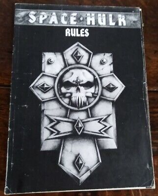 Space Hulk Rules 1st Edition Rule Book Games Workshop