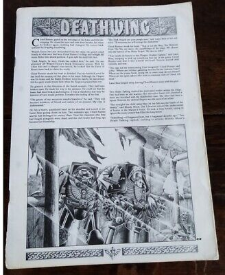 Space Hulk Deathwing Rules and Missions 1st Edition Rule Book Games Workshop