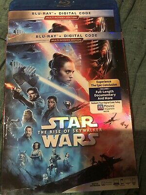Star Wars: The Rise of Skywalker (Blu-ray Disc, 2020) only opened for digital