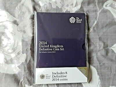 2014 Royal Mint 8 Coin Brilliant Uncirculated Set.sealed