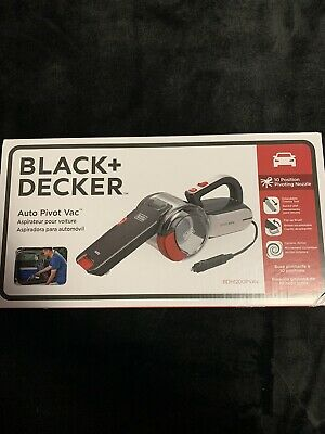 Black & Decker Vacuum Cleaner Car BDH1200PVAV Manual Pet 12 V Portable Cyclone