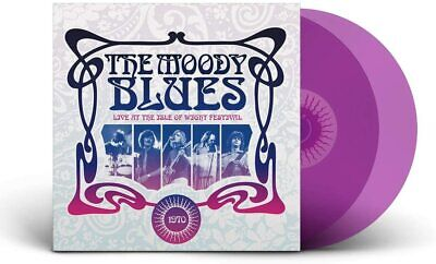 Moody Blues Live At The Isle Of Wight Festival 1970 2 LP Vinile 180 grammi Viola