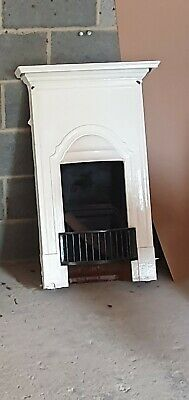 Edwardian Cast Iron  Fireplace and surround selling as a pair