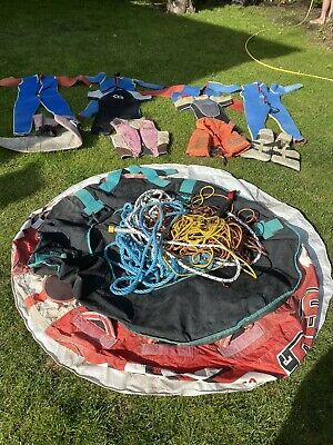 4 x Water skiing Suits, 4 x Life Jackets & Towable Inflatable Ring
