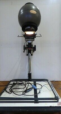 Vintage Retro GAMER ENGINEERING Enlarger & Original Easel Photographic Dark Room