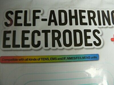 Self-Adhering Electrodes 20 Pads Compatible With Tens, Ems