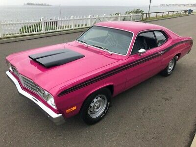 "1973 Plymouth Duster  1973 PLYMOUTH DUSTER 340CI/TRI-POWER 4/SPEED REAL ""H"" CODE FAST"