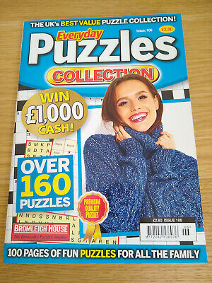 1 x Everyday Puzzles Collection Puzzle Book - over 160 puzzles - Issue 106