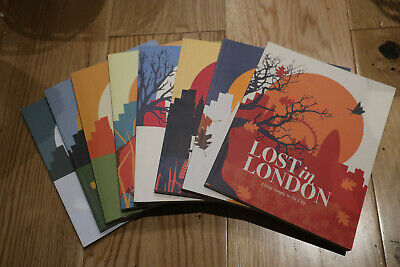 8 x Lost in London Magazines - Complete Collection