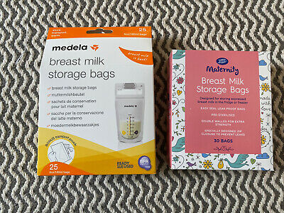 Medela And Boots Breast Milk Storage Bags. Maternity. BNIB