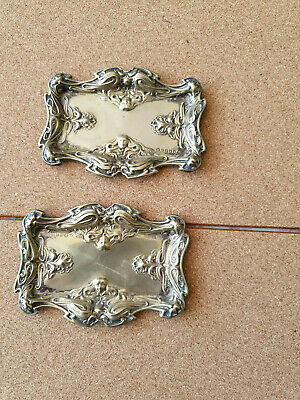 Vintage Silver Plated EPNS S & Co Trinket Jewelery Sweet Dish 11cm x 8cm Patina