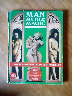Man Myth & Magic Encyclopedia Of Supernatural / Wicca / Pagan / Occult Etc
