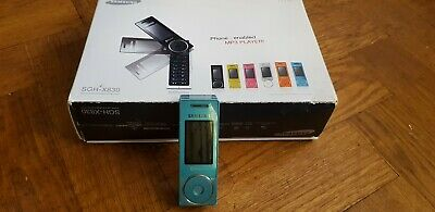 Samsung SGH - X830 Blue Swivel Mobile Phone. Working, with Box and Charger